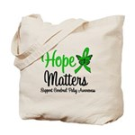 Cerebral Palsy HopeMatters Tote Bag