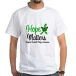 Cerebral Palsy HopeMatters White T-Shirt