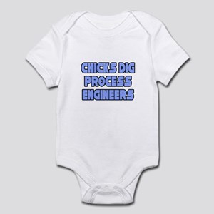 """Chicks..Process Engineers"" Infant Bodysuit"