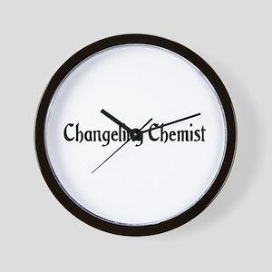 Changeling Chemist Wall Clock