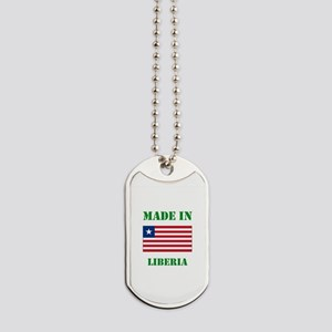 Made in Liberia Dog Tags