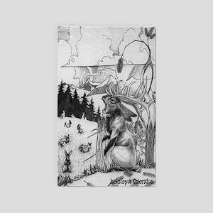 Jackalope Colorado Area Rug