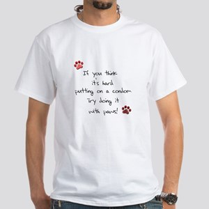 White Spay and Neuter T-Shirt