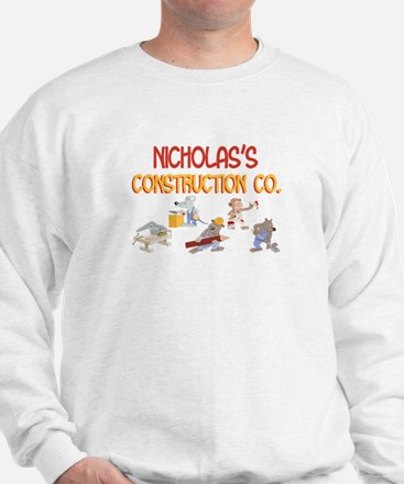 Nicholas's Construction Co. Sweatshirt