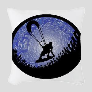 KITEBOARD Woven Throw Pillow