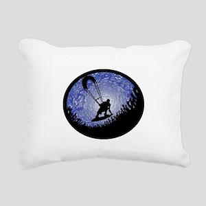 KITEBOARD Rectangular Canvas Pillow