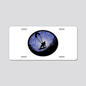 KITEBOARD Aluminum License Plate