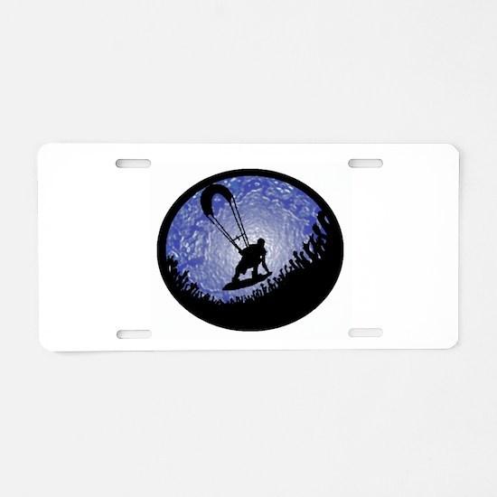 KITEBOARD Aluminum License Plate