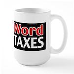 The N Word Large Mug