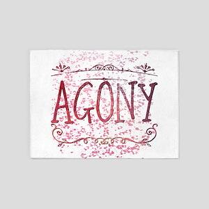 Agony 5'x7'Area Rug