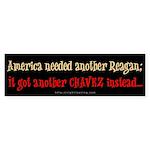 America Needed a Reagan Bumper Sticker (10 pk)