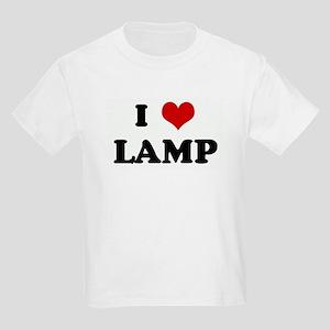 I Love LAMP Kids Light T-Shirt