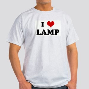 I Love LAMP Light T-Shirt