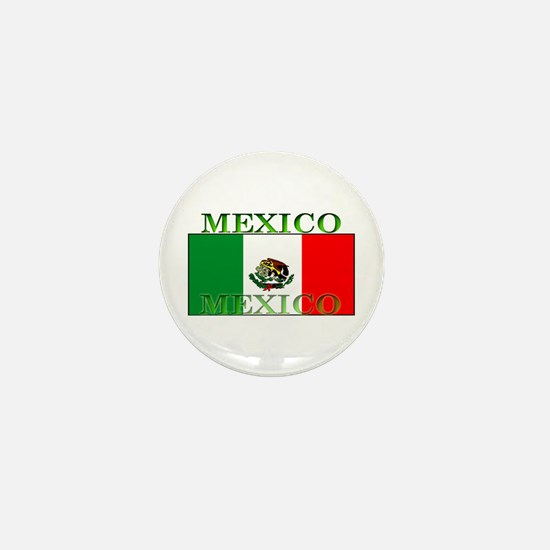 Mexico Mexican Flag Mini Button