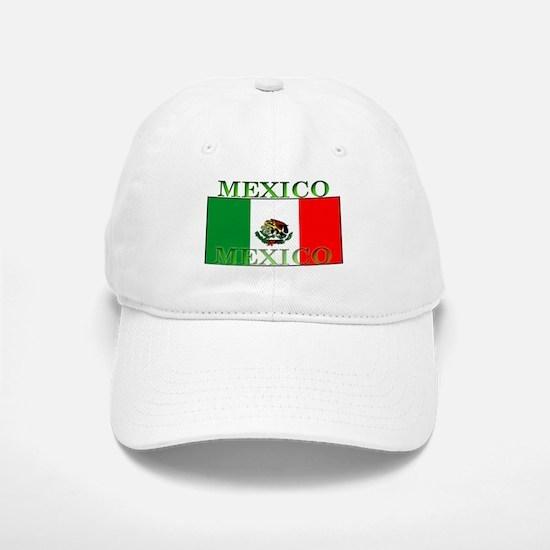 Mexico Mexican Flag Cap