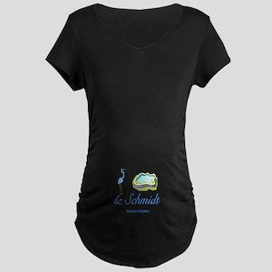CRANEPOOLESCHMIDT1 Maternity Dark T-Shirt
