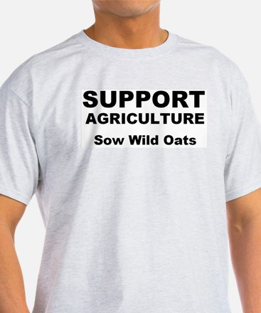 Support Agriculture: Sow Wild Oats