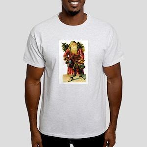 Vintage Santa with Bell Light T-Shirt