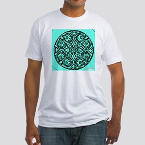 INDIA SURFER ART Fitted T-Shirt