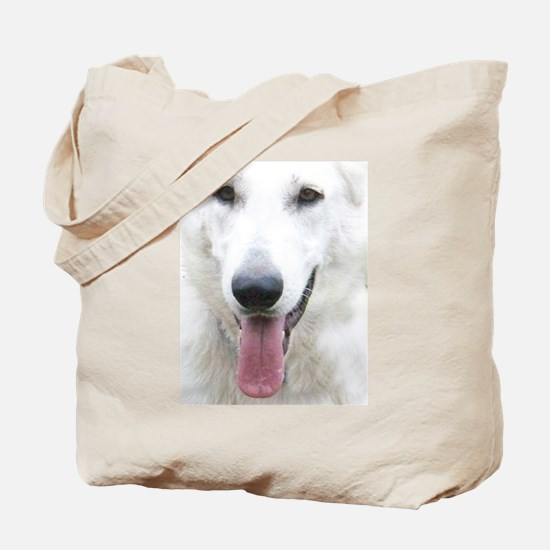 White Shepherd Tote Bag