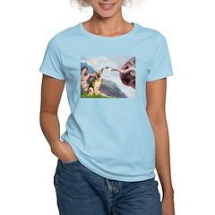 Creation / German Shepherd #2 Women's Light T-Shir