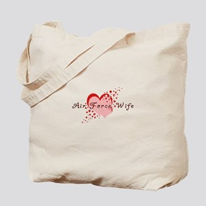 Air Force Wife Tote Bag