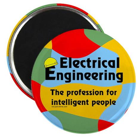 "Smart Electrical Engineer 2.25"" Magnet (10 pack)"