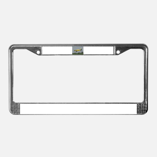 Ag Aviation License Plate Frame