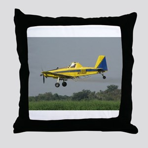 Ag Aviation Throw Pillow