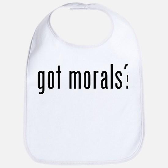 got morals? Bib