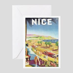 Nice France Greeting Card