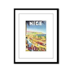 Nice France Framed Panel Print
