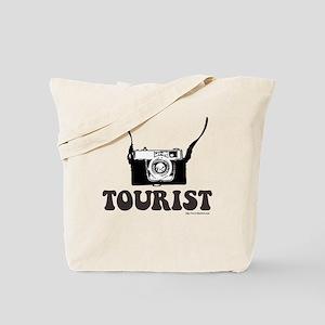 Camera Toting Tourist Tote Bag
