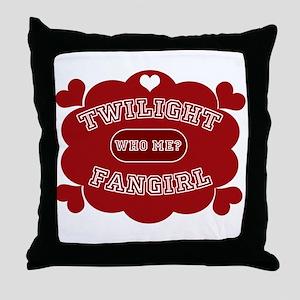 Twilight Fangirl Throw Pillow