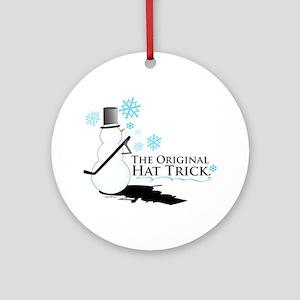 original hat trick Ornament (Round)