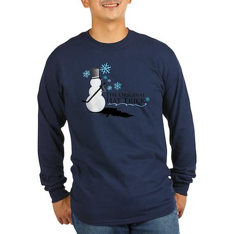 original hat trick Long Sleeve Dark T-Shirt