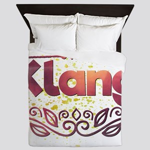 Klang Queen Duvet