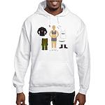Dress-Up Dyke Hooded Sweatshirt