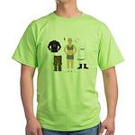 Dress-Up Dyke Green T-Shirt