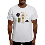 Dress-Up Dyke Ash Grey T-Shirt