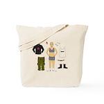 Dress-Up Dyke Tote Bag