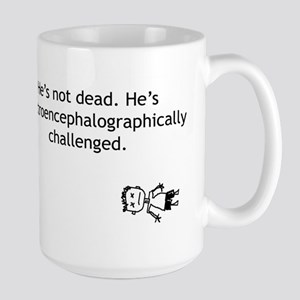 Electroencephalographically c Large Mug