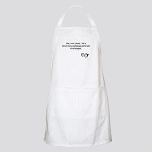 Electroencephalographically c BBQ Apron