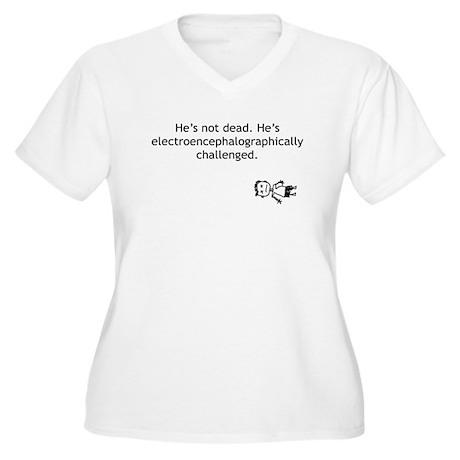 Electroencephalographically c Women's Plus Size V-
