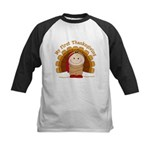 First Thanksgiving (t) Kids Baseball Jersey