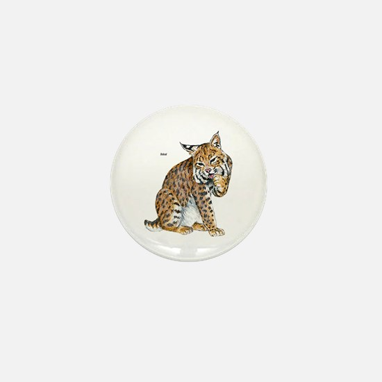 Bobcat Mini Button (10 pack)