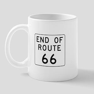 End of Route 66, Illinois Mug