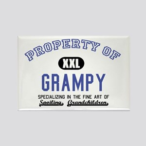 Property of Grampy Rectangle Magnet