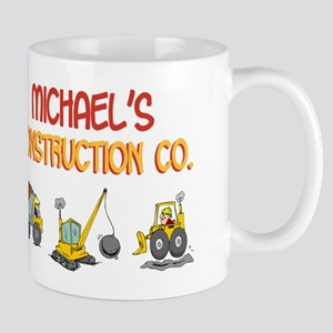 Michael's Construction Tracto Mug