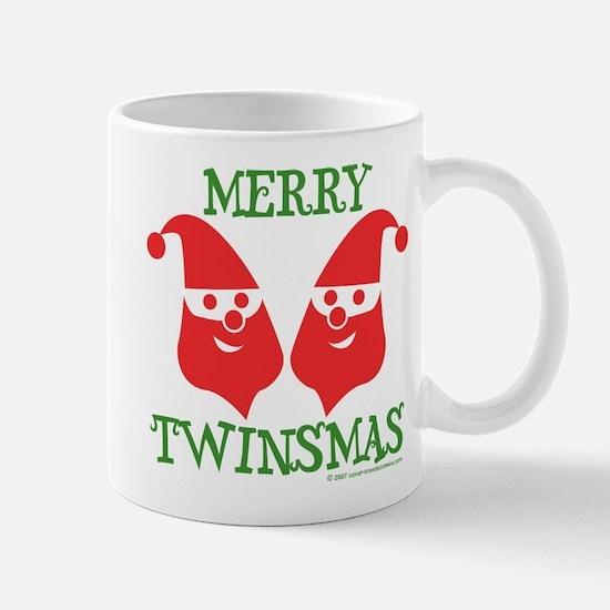 Cute Christmas twins Mug